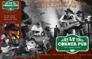 Carl Hutchens Band @ LT Corner Pub | Austin | Texas | United States