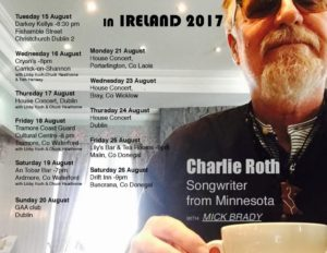Live Music - Charlie Roth (Americana & Celtic)