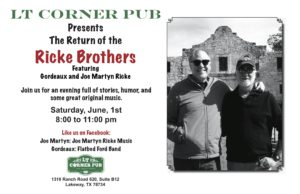 Live Music - The Ricke Brothers